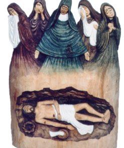 Kobiety płaczące nad grobem Jezusa