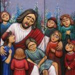 Jezus i dzieci (tryptyk 3)