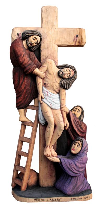 Zdjęcie z krzyża.