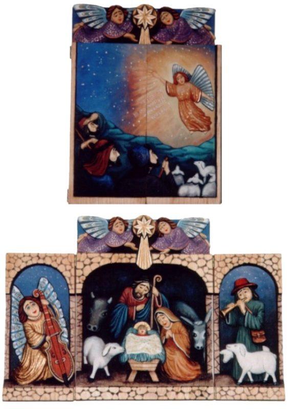 Narodziny Pana Jezusa - tryptyk #1