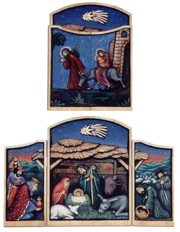 Narodziny Pana Jezusa - tryptyk #2