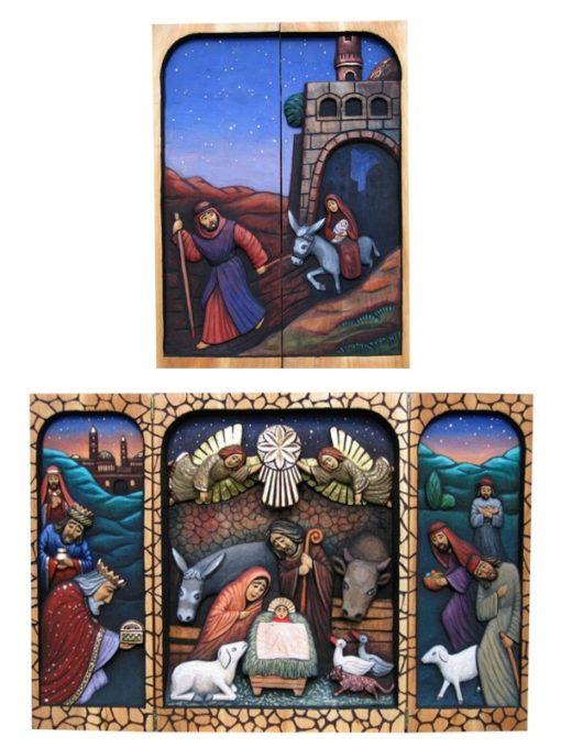 Narodziny Pana Jezusa - tryptyk #4