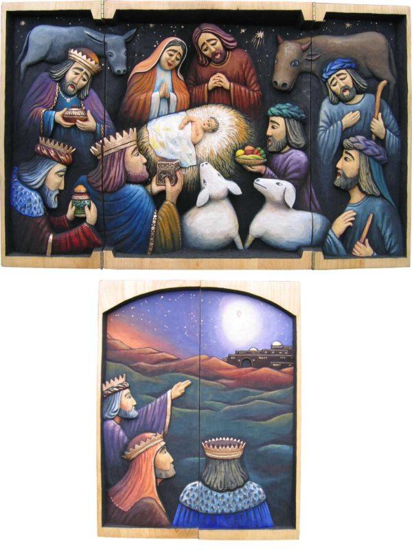 Narodziny Pana Jezusa – tryptyk #3